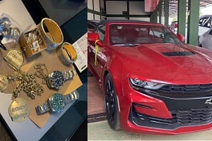 PF faz operação contra 45 traficantes e apreende 150 veículos de luxo
