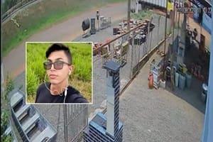 Vídeo de câmera de segurança mostra exato momento em que caminhão passa por cima de motociclista em Cacoal