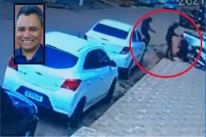 Advogado de MT é executado a tiros de '.12' na frente do escritório; veja vídeo