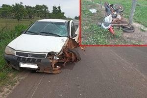 Homem perde a vida em grave acidente na RO 383 entre Santa Luzia e Rolim de Moura